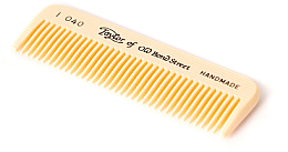 Parfums et Produits cosmétiques Peigne à barbe et moustache, 8 cm, imitation ivoire - Taylor of Old Bond Street Moustache Comb Imitation Tortoise Shell