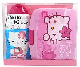 Parfums et Produits cosmétiques Set - Disney Hello Kitty (shampooing et gel douche/ 300ml + boîte à goûter)