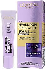 Parfums et Produits cosmétiques Crème à l'acide hyaluronique contour des yeux - L'Oreal Paris Skin Expert