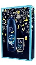 Parfums et Produits cosmétiques Fa Sport - Set (déodorant roll-on/50ml + gel douche/250ml)