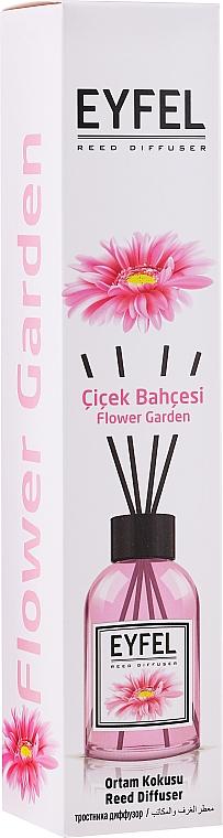Bâtonnets parfumés, Jardin de fleurs - Eyfel Perfume Reed Diffuser Flower Garden