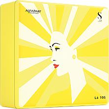 Parfums et Produits cosmétiques AlfaParf Holiday Kit Diamond - Coffret (shampooing/250ml + masque pour cheveux/200ml + cristaux liquides/15ml)