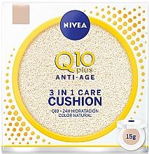 Parfums et Produits cosmétiques Fond de teint coussin - Nivea Anti-Age Q10 plus 3 In 1 Care Cushion