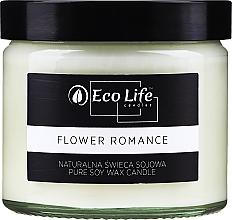 """Parfums et Produits cosmétiques Bougie parfumée """"Fleur Romance"""" - Eco Life Candles"""