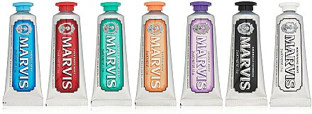 Marvis Toothpaste Flavor Collection Gift Set (7x25ml) - Set de 7 dentifrices différents