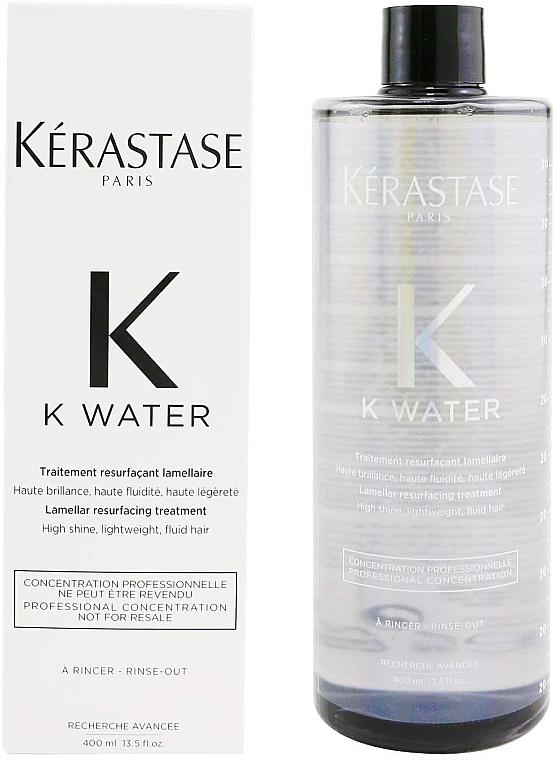 Traitement lamellaire pour cheveux - Kerastase K Water Lamellar Hair Treatment