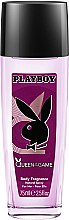 Parfums et Produits cosmétiques Playboy Queen Of The Game - Déodorant spray