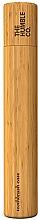 Parfums et Produits cosmétiques Étui en bambou pour brosse à dents - The Humble Co. Toothbrush Case Kids