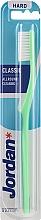 Parfums et Produits cosmétiques Brosse à dents dure, vert - Jordan Classic Hard Toothbrush