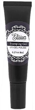Vernis semi-permanent pour nail stamping - Elisium Stamping Gel