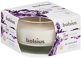 Parfums et Produits cosmétiques Bougie parfumée, Lavande et Camomille, 50/80 mm - Bolsius True Moods Candle