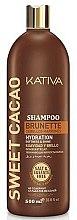 Parfums et Produits cosmétiques Shampooing au cacao - Kativa Sweet Cacao Brunette Shampoo