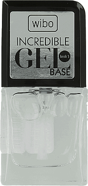 Base coat pour vernis semi-permanent - Wibo Incredible Gel Base