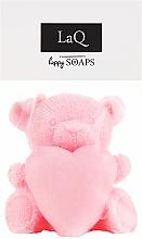 Parfums et Produits cosmétiques Savon artisanal, Ours avec coeur - LaQ Happy Soaps Natural Soap