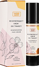 Parfums et Produits cosmétiques Crème régénérante à l'eau florale de rose de Damas pour visage - Nature Queen