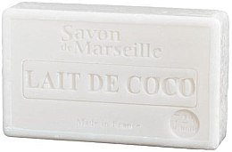 Parfums et Produits cosmétiques Savon de Marseille au lait de coco - Le Chatelard 1802 Soap Coconut Milk