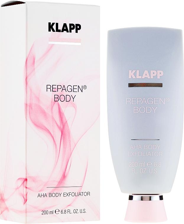 Exfoliant à l'acide glycolique pour corps - Klapp Repagen Body AHA Body Exfoliator — Photo N1