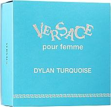 Parfums et Produits cosmétiques Versace Set Versace Dylan Turquoise Pour Femme - Coffret (eau de toilette/30ml + gel parfumé pour le corps/50ml)
