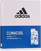 Parfums et Produits cosmétiques Adidas Climacool Women - Set (gel douche/250ml + déodorant spray anti-transpirant/150ml)