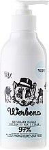 Parfums et Produits cosmétiques Baume à la verveine, huile de noix de coco et aloe vera pour mains et corps - Yope Verbena Natural Hand And Body Balm