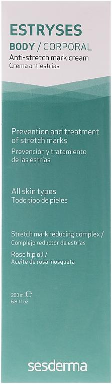 Crème anti-vergetures - SesDerma Laboratories Estryses Anti-stretch Mark Cream — Photo N1
