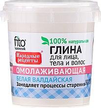 Parfums et Produits cosmétiques Argile blanche rajeunissante pour visage, corps et cheveux - FitoKosmetik Recettes folkloriques
