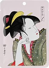 Parfums et Produits cosmétiques Masque tissu au camélia et matcha pour visage - Mitomo Camellia Flower Oil & Matcha Essence Mask