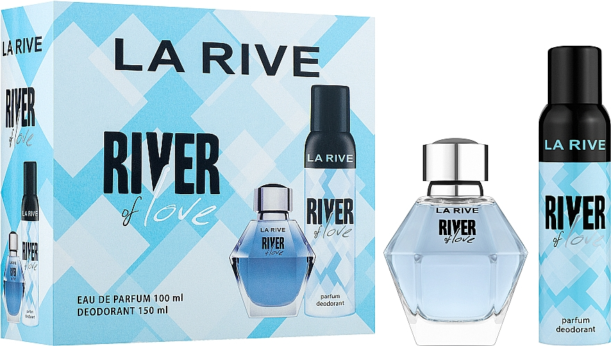 La Rive River Of Love - Set (eau de parfum/100ml + déodorant/150ml)