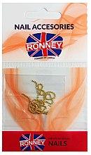 Parfums et Produits cosmétiques Chaîne pour nail art, 00375, or - Ronney Professional