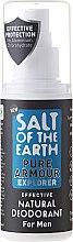 Parfums et Produits cosmétiques Déodorant spray naturel - Salt of the Earth Pure Armour Explorer Natural Deodorant For Men