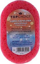 Parfums et Produits cosmétiques Éponge de bain, 30451, rose-jaune - Top Choice