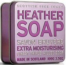 Parfums et Produits cosmétiques Savon en boîte métallique, Bruyère - Scottish Fine Soaps Heather Soap