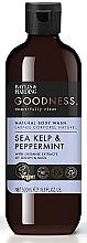 Parfums et Produits cosmétiques Gel douche naturel aux extraits bio de citron et basilic - Baylis & Harding Goodness Sea Kelp & Peppermint Natural Body Wash