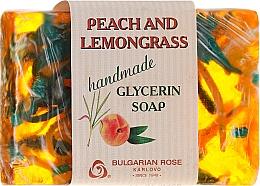Parfums et Produits cosmétiques Savon glycériné à la pêche et citronnelle - Bulgarian Rose Peach & Lemongrass Soap