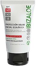 Parfums et Produits cosmétiques Crème solaire - Ibizaloe Organic Sun Protection SPF 50