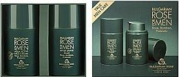 Parfums et Produits cosmétiques Bulgarian Rose For Men - Set (crème pour visage/50ml + baume après-rasage/50ml)