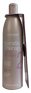 Traitement de lissage progressif à la kératine - Alfaparf Lisse Design Keratin Smoothing Fluid