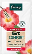 Parfums et Produits cosmétiques Sels de bain - Kneipp Mineral Bath Salt Back Comfort Devils Claw