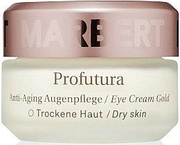 Parfums et Produits cosmétiques Crème anti-âge contour des yeux pour peaux sèches - Marbert Anti-Aging Care Profutura