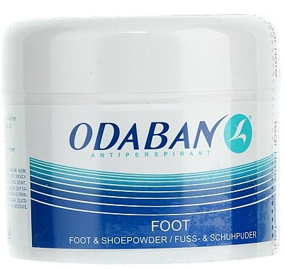 Poudre pour pieds et chaussures - Odaban Foot and Shoe Powder