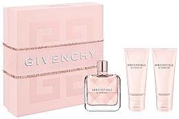 Parfums et Produits cosmétiques Givenchy Irresistible Givenchy - Coffret (eau de parfum/80ml + lotion corporelle/75ml + huile bain et douche/75ml)