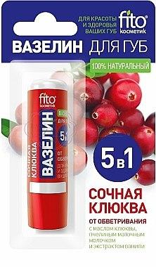Vaseline à la canneberge juteuse pour lèvres - FitoKosmetik