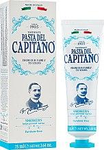 Parfums et Produits cosmétiques Dentifrice pour fumeurs - Pasta Del Capitano Smokers Toothpaste