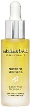 Parfums et Produits cosmétiques Huile rajeunissante bio à l'huile de cynorrhodons pour visage - Estelle & Thild BioDefense Nutrient Youth Oil