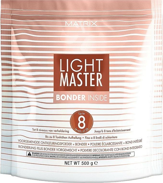 Poudre éclaircissante au complexe protecteur pour cheveux - Matrix Light Master 8 Bonder Inside