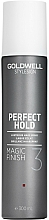 Parfums et Produits cosmétiques Laque cheveux fixation moyenne - Goldwell Style Sign Perfect Hold Magic Finish Lustrous Hairspray