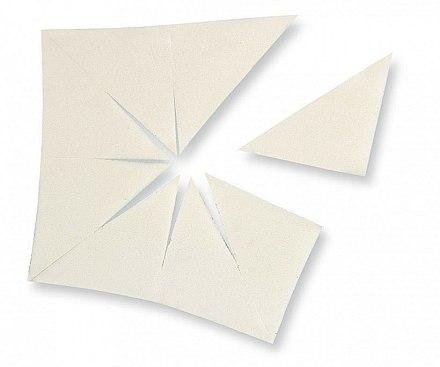 Éponges à maquillage latex triangle - Make Up Factory Sponge — Photo N1