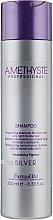 Parfums et Produits cosmétiques Shampooing ravivant pour cheveux gris et blonds - Farmavita Amethyste Silver Shampoo