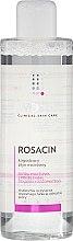Parfums et Produits cosmétiques Eau micellaire apaisante pour peaux sensibles aux problèmes de rosacée - Iwostin Rosacin Micellar Water