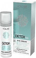 Parfums et Produits cosmétiques Crème détoxifiante aux algues rouges pour visage - Vollare Multi-Active Detox Q10 Eye Cream